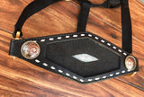 Black Stingray Inlay Halter
