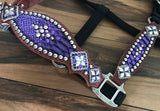 Purple Mystic Halter with cheeks and crystal rim sets