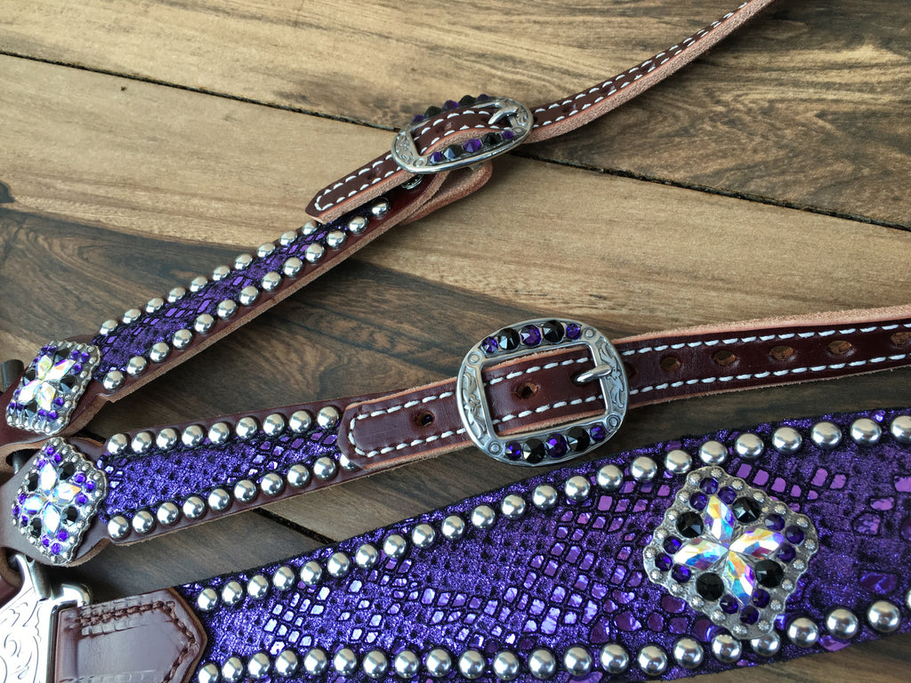 Purple Mystic with AB conchos