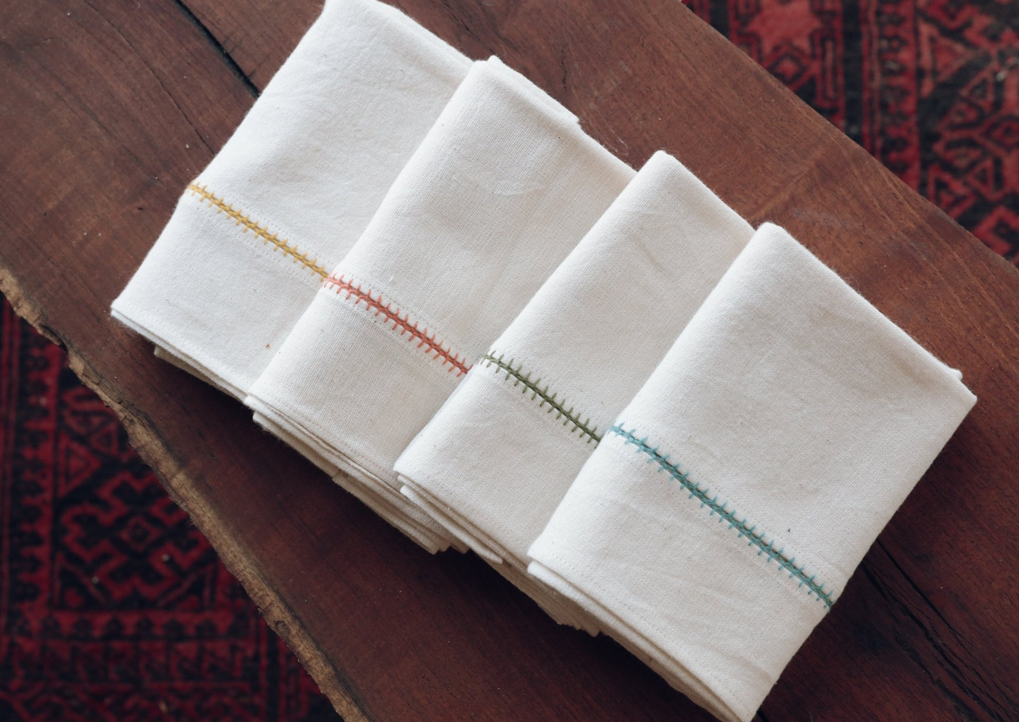 Hand-embroidered Turkish Handkerchief
