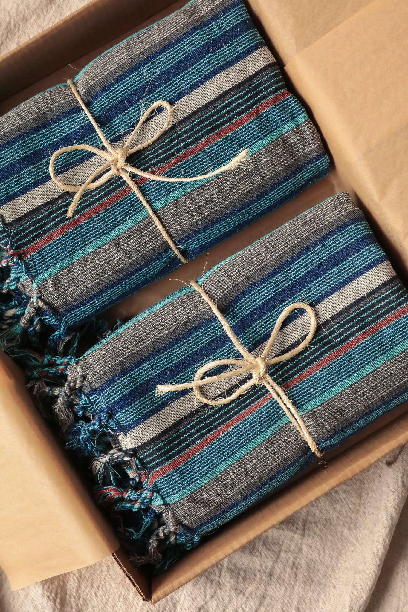 Limited Edition 'Sahil' Handwoven Turkish Towel