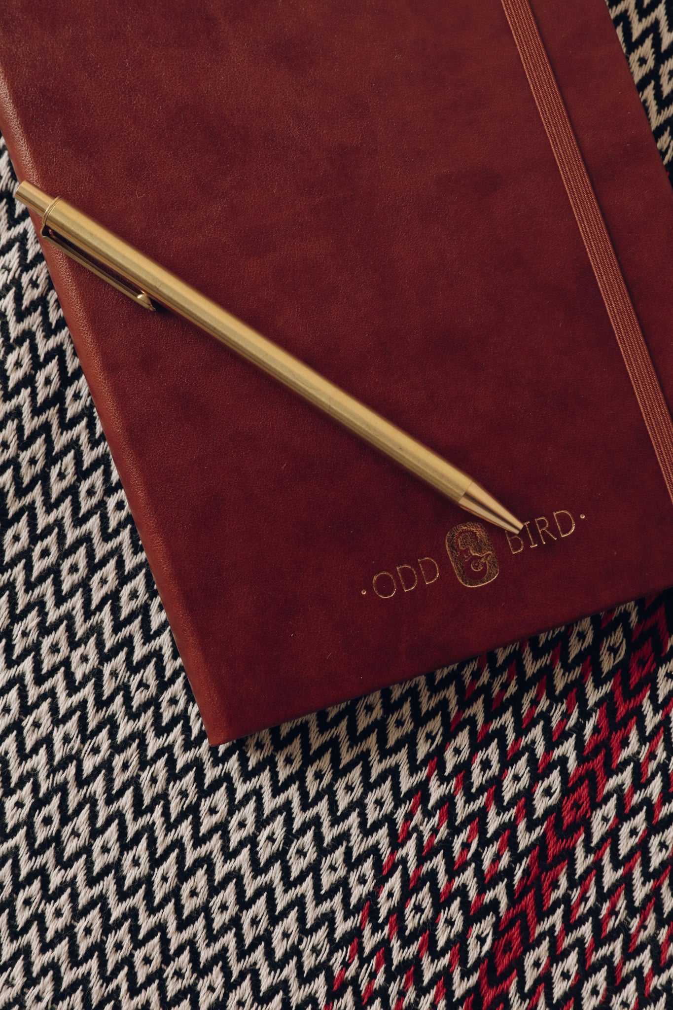 Oddbird Leather Journal