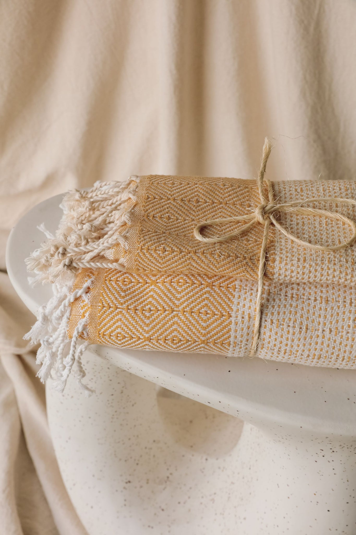 Limited Edition Hazal Bath + Tea towel Set