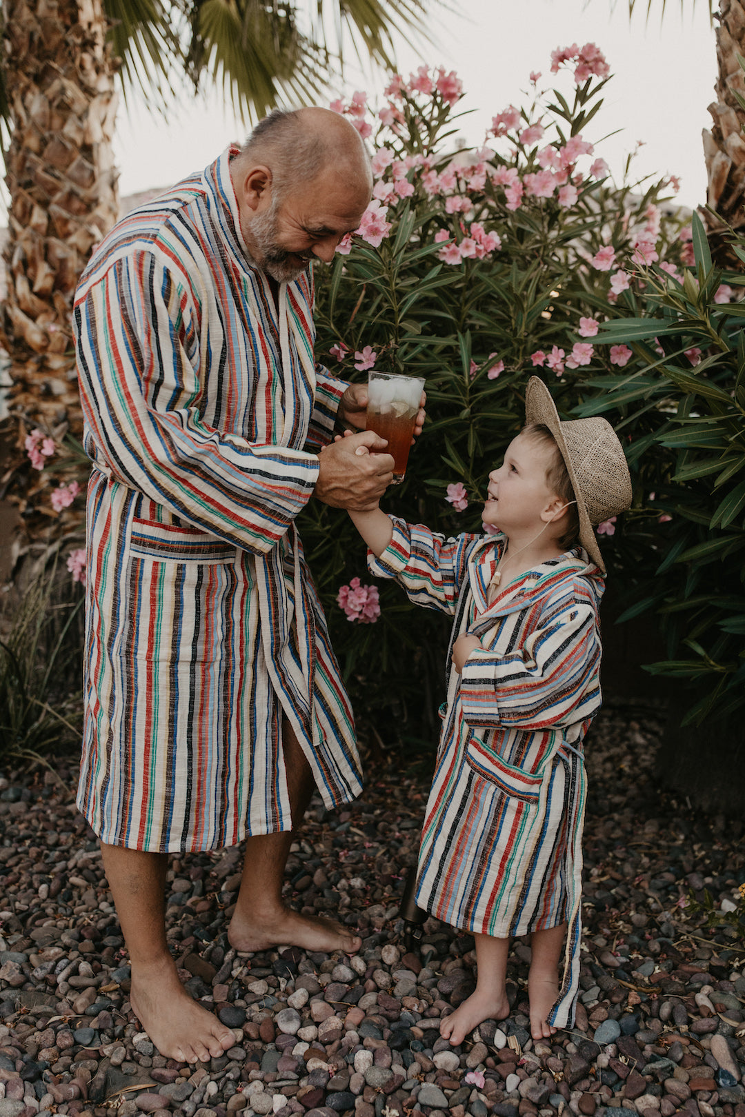 🌈 Limited Edition Mini-Me Rainbow Robe