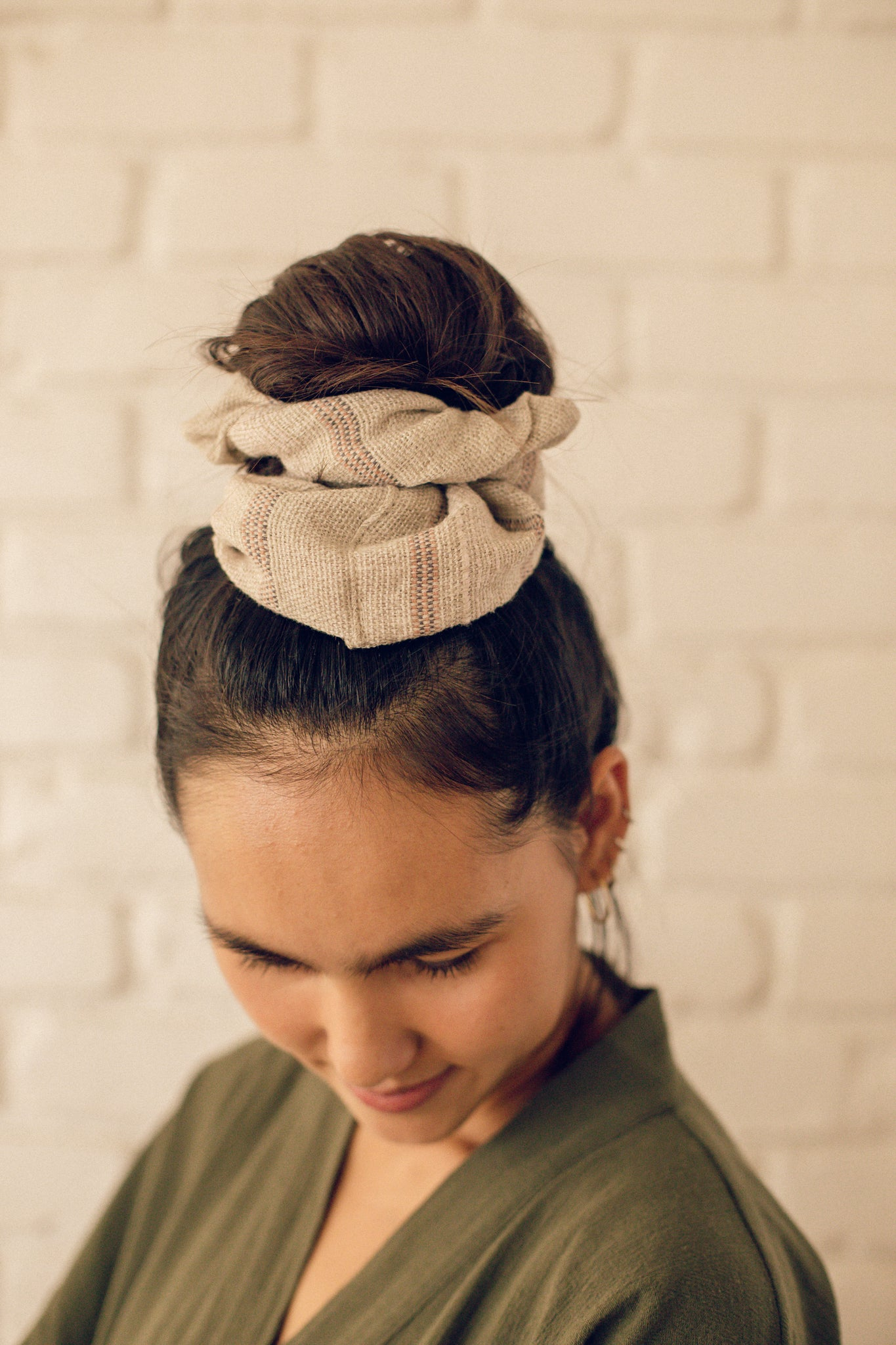 Waste Not Want Not Jumbo Scrunchie