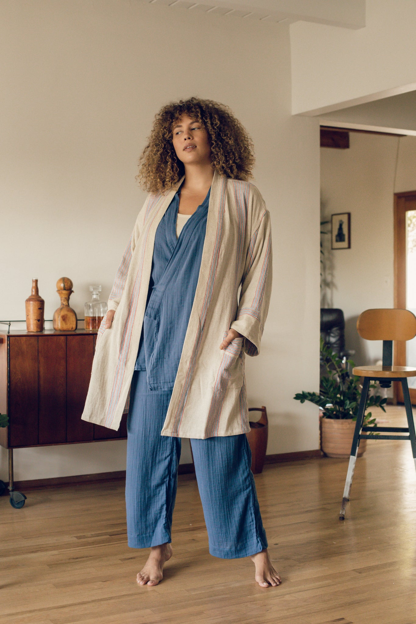 Kardeš Loungewear - Not Quite Electric Blue PREORDER