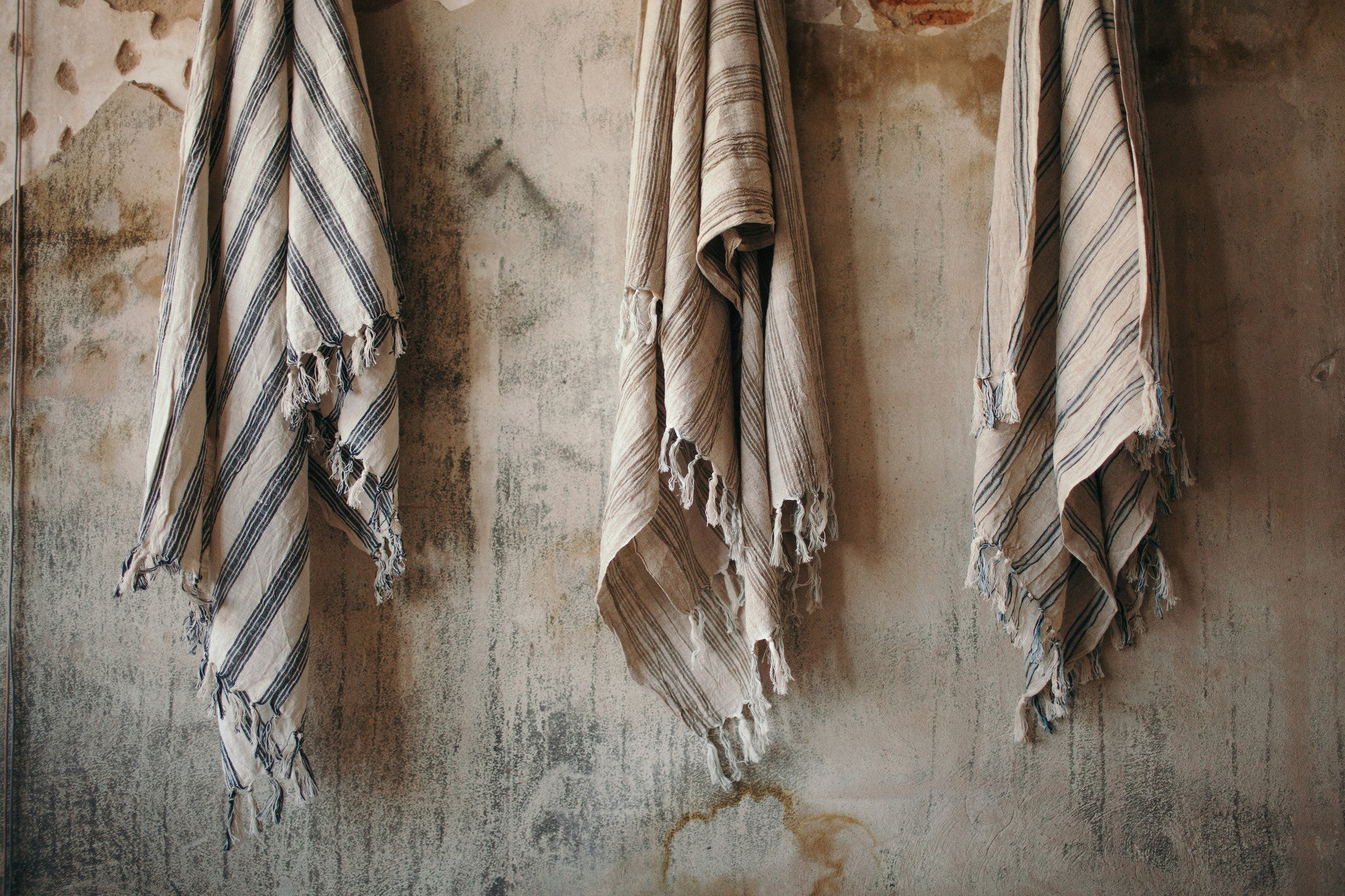 Sultan Handwoven Linen Towel Collection