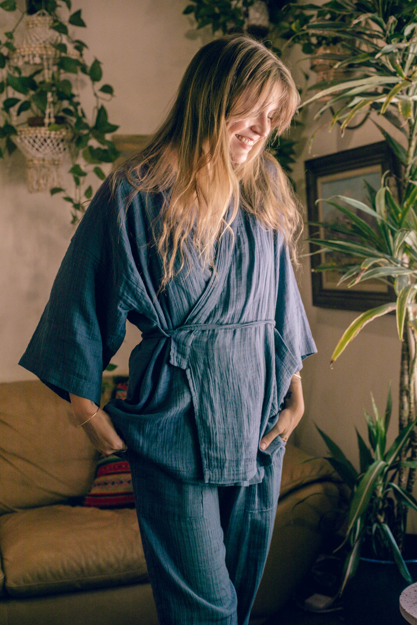 Kardeš Loungewear - Not Quite Electric Blue