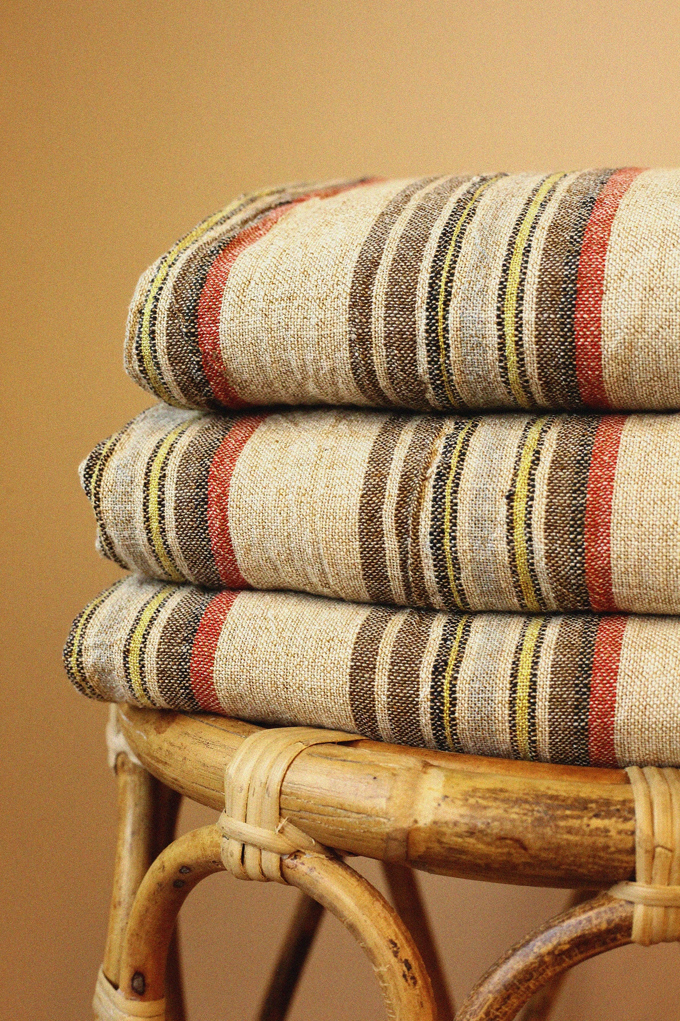 Alem Handwoven Linen Towel Collection
