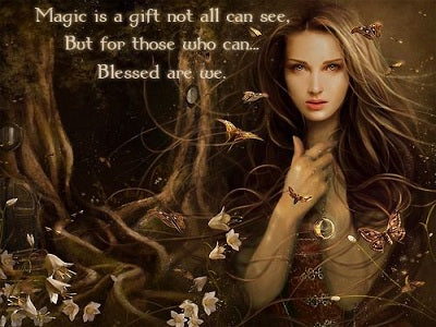 Seeing the magick all around you