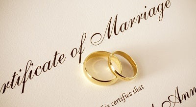 The Institution of Marriage BA ONLY