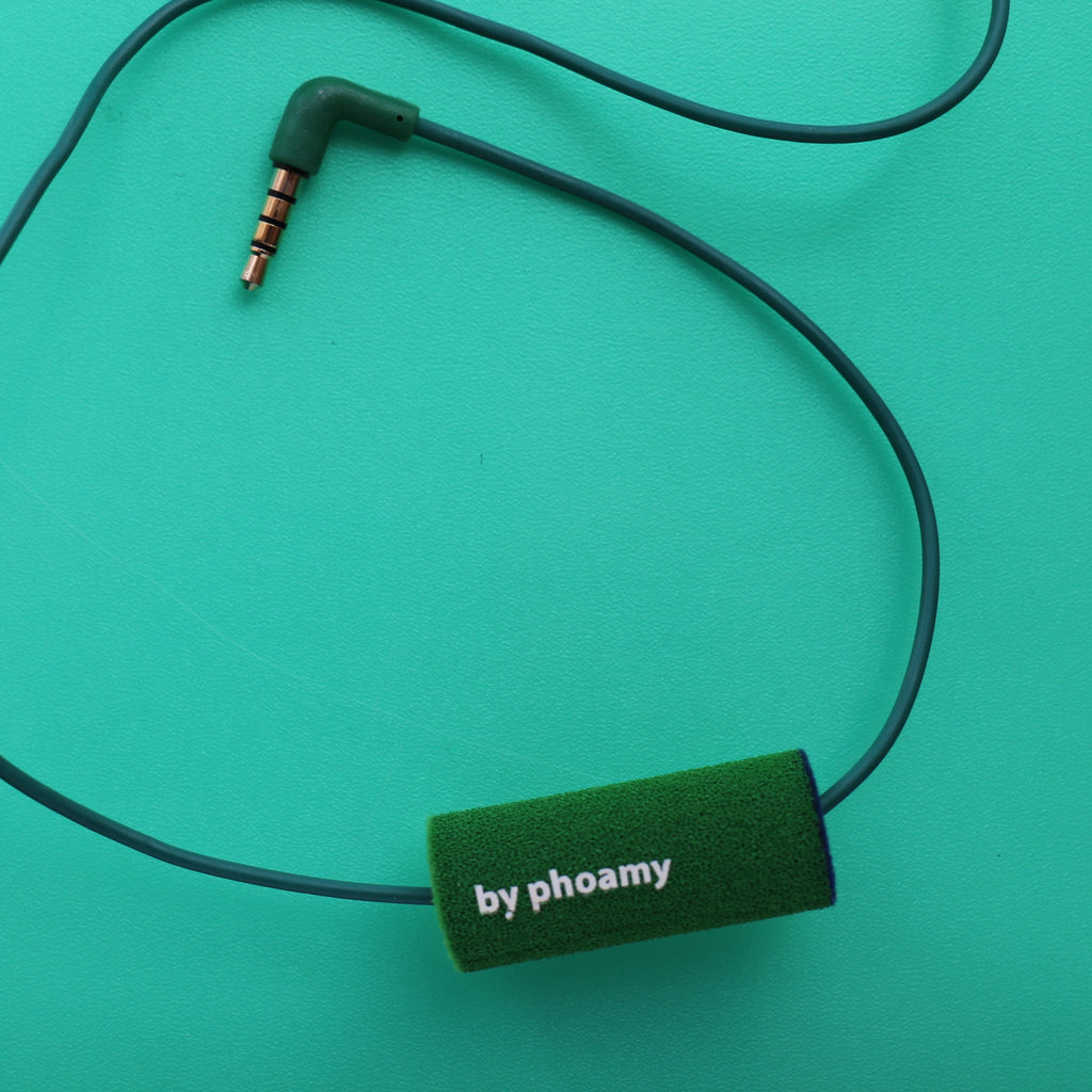 Green and juicy accessories for mobile headset