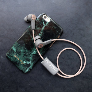This silver printed phoamy is the perfect wind shield for your headset.