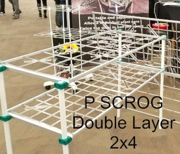 P SCROG Double Layer 2x4 Kit w/ Leg Clamps (SAVE 10%)
