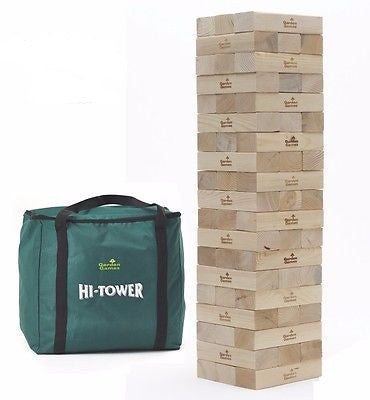 Giant Tower Jenga & Canvas Bag - Bigger Blocks - Coast & Country Store - 1