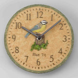 "Outside In Blue Tit Garden Wall Clock 8"" - Coast & Country Store - 3"