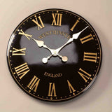 "Westminster Tower Outside In Garden Wall Clock 30cm / 12"" - Black Roman Numeral - Coast & Country Store - 3"