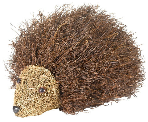 Spike The Hedgehog Decorative Animal Garden Ornament - Coconut Husk - Coast & Country Store - 1
