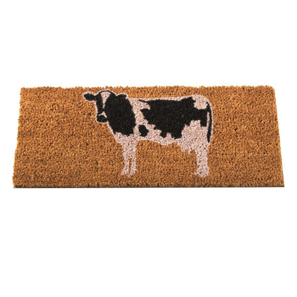 Buttercup Cow Decoir Brush Coir Doormat Insert 53 x 23cm - Coast & Country Store