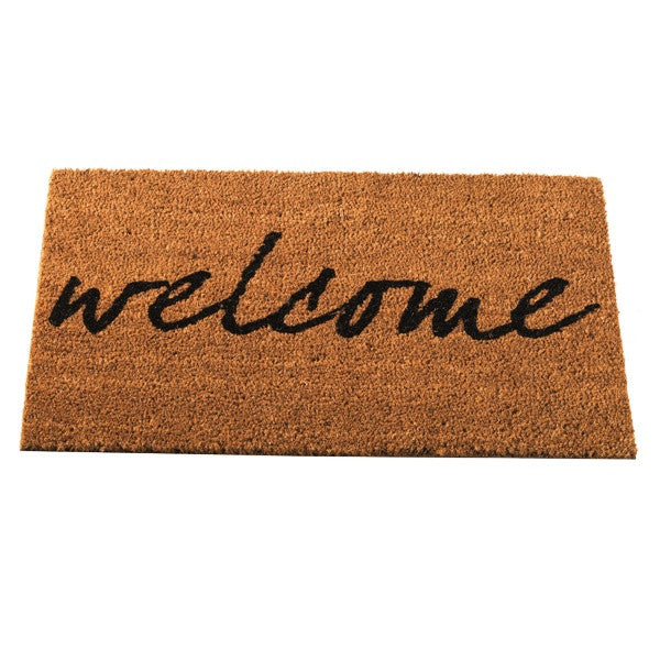 Traditional Welcome Brush Choir Doormat 75 x 45cm - Coast & Country Store