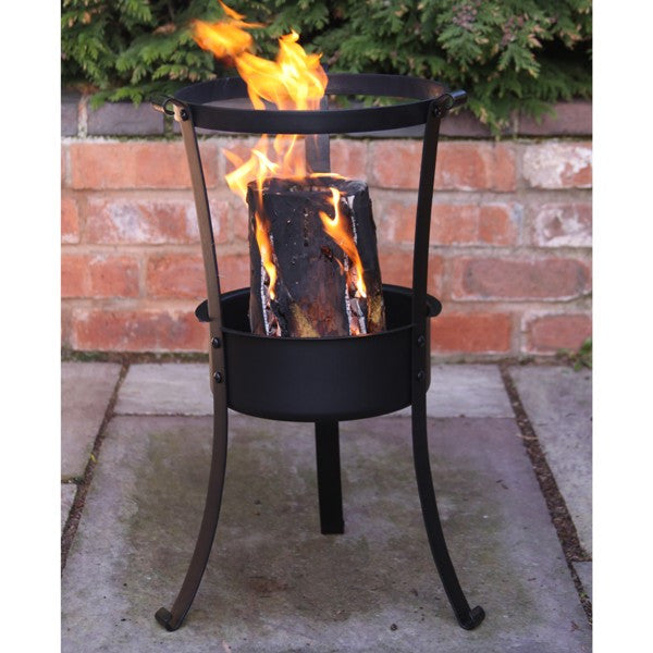Gardeco Swedish Log Burner Fire Pit and BBQ Grill - Coast & Country Store - 1