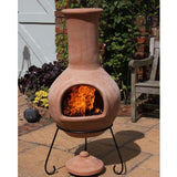 Extra Large Mexican Clay Terracotta Chiminea - Colima - Coast & Country Store - 2