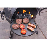 Cast Iron Swiveling BBQ Barbecue Hotplate / Frying Pan for Chimenea - Coast & Country Store - 1