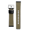 Olive Canvas 22mm Strap
