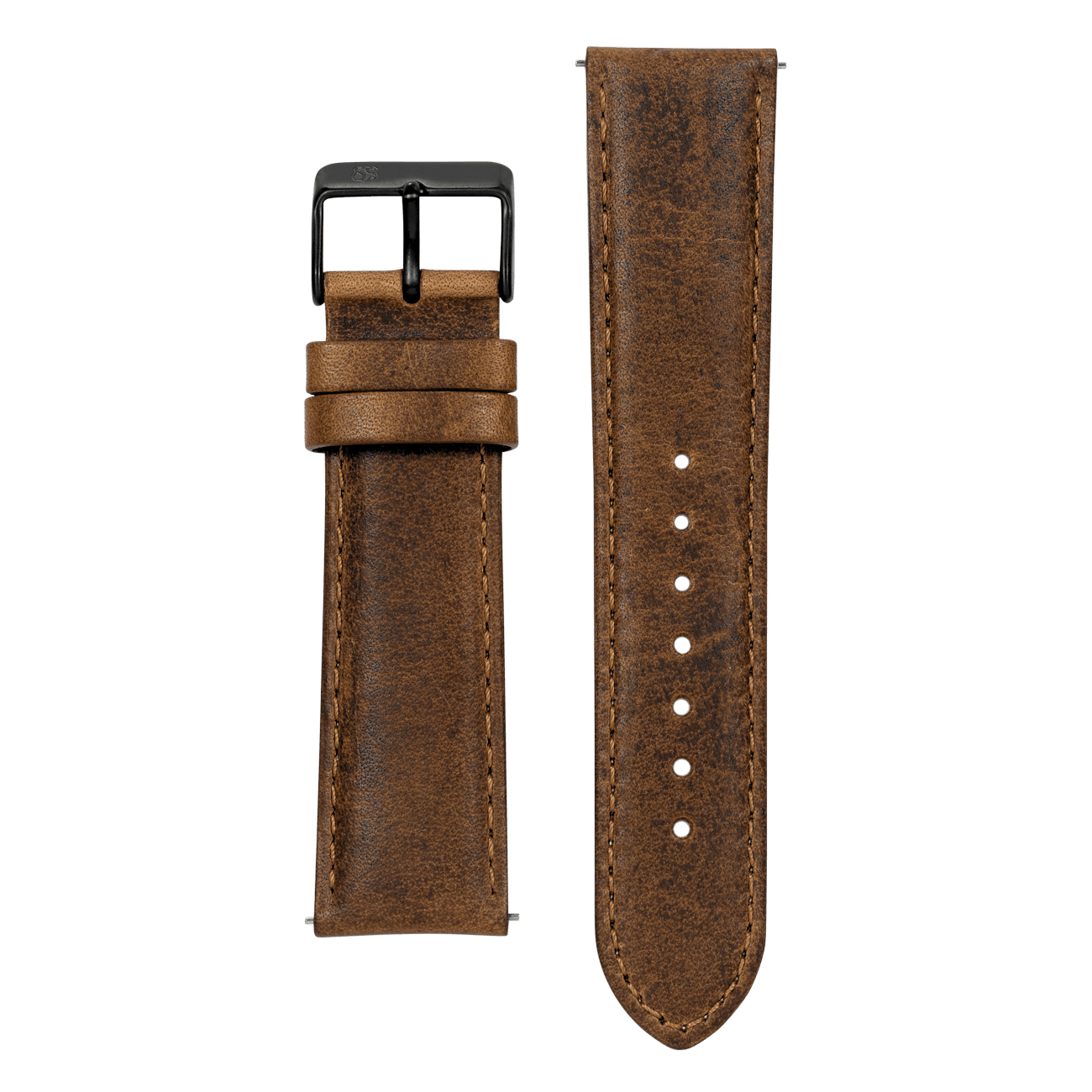 Brown Leather 22mm