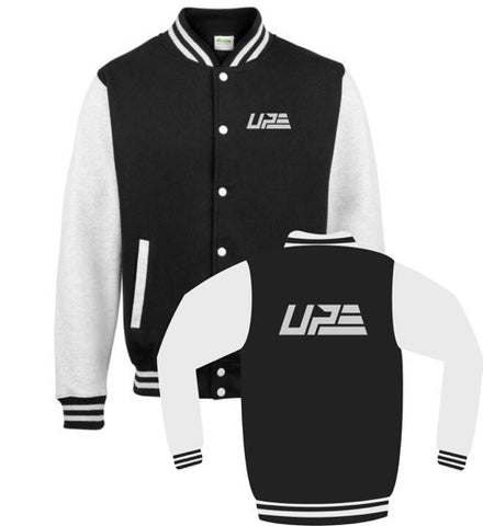 Black and Grey UP Varsity Jacket