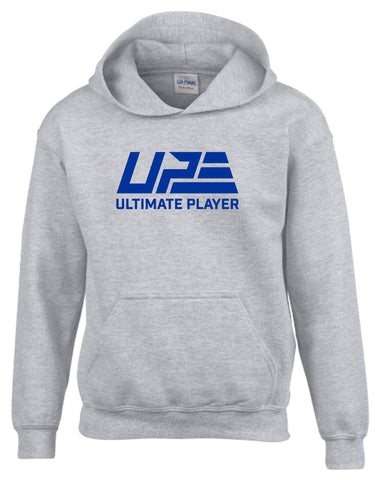 Grey and Royal Blue Hoodie