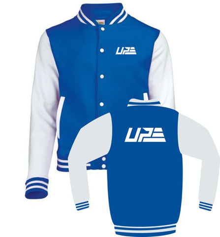 Royal Blue and White UP Varsity Jacket