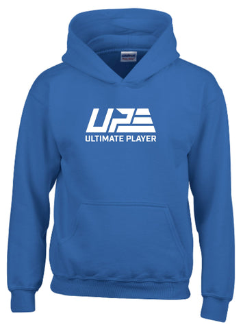 Royal Blue and White Hoodie