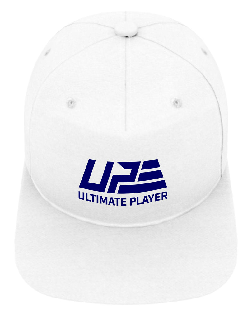 White and Navy Snapback
