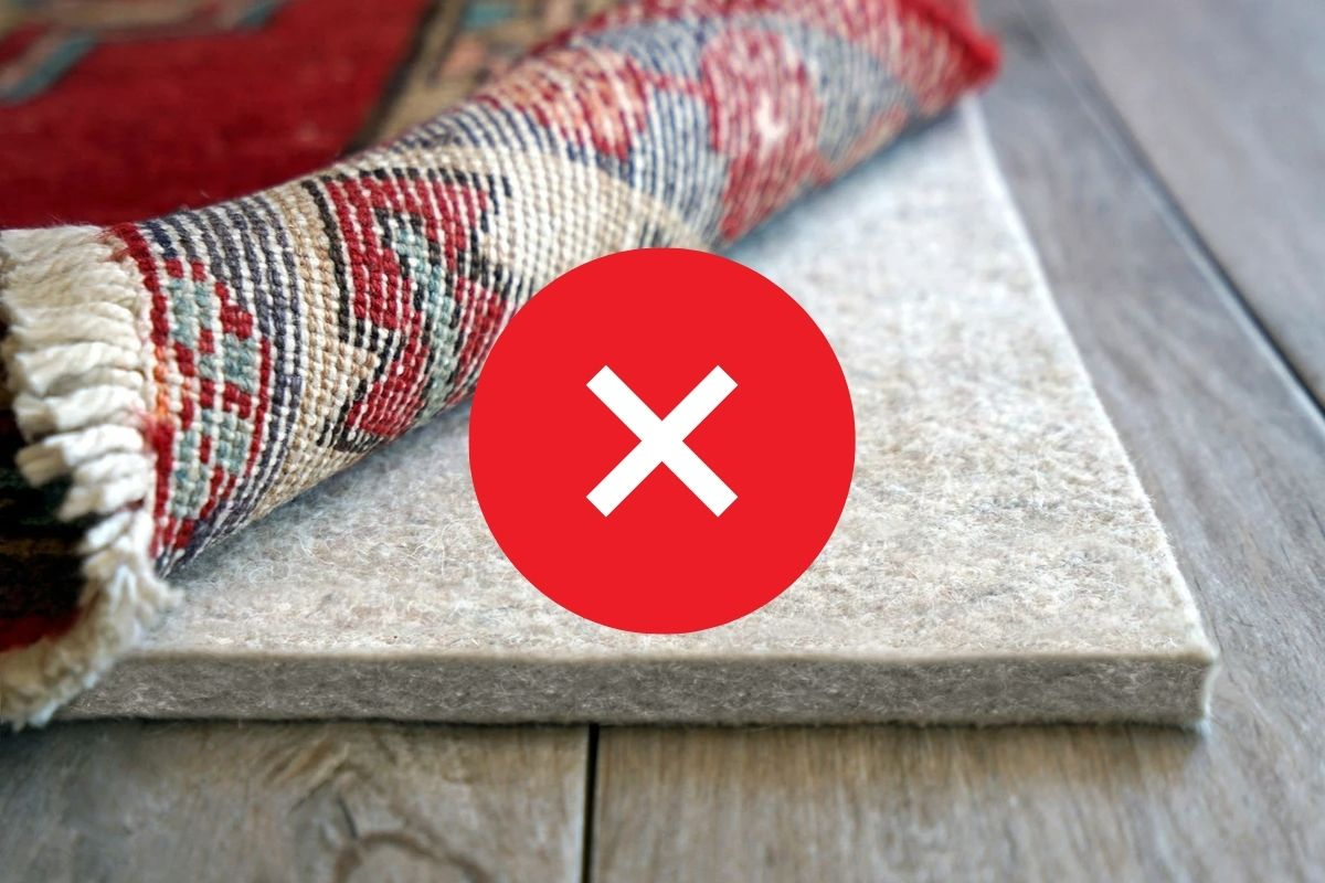 when not to use a thick rug pad