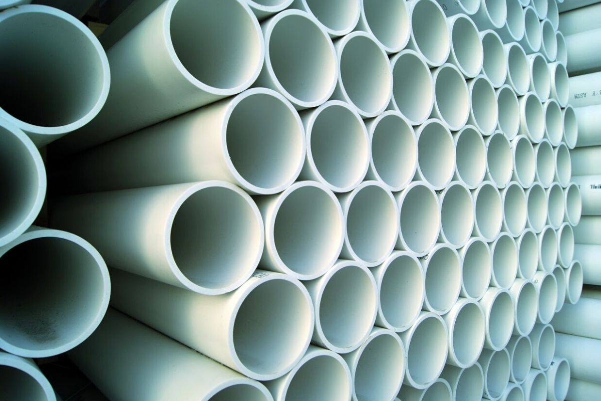 pvc used in pipes