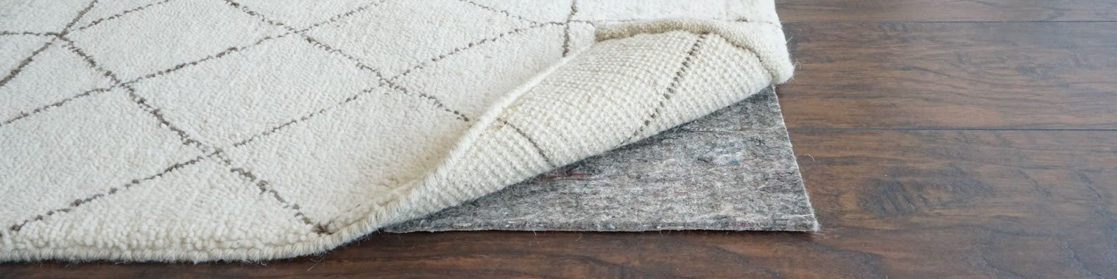 Felt and Natural Rubber Rug Pads