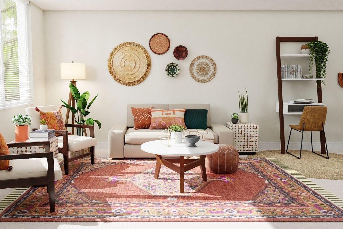 find a rug that fits home decor