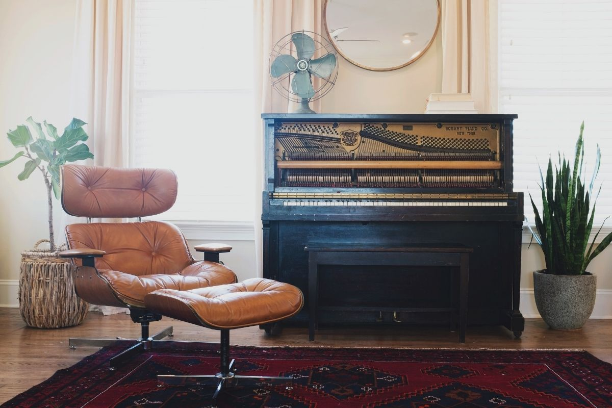 find the right looking rug for the living room