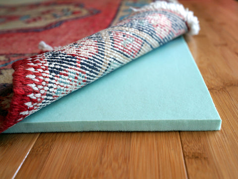 "Cloud Comfort 7/16"" Rug Pads for Hardwood Floors"