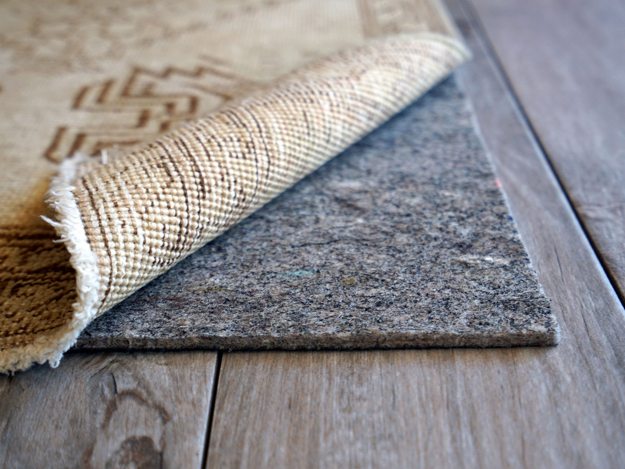 Contour Lock Rug Pads for Laminate Floors