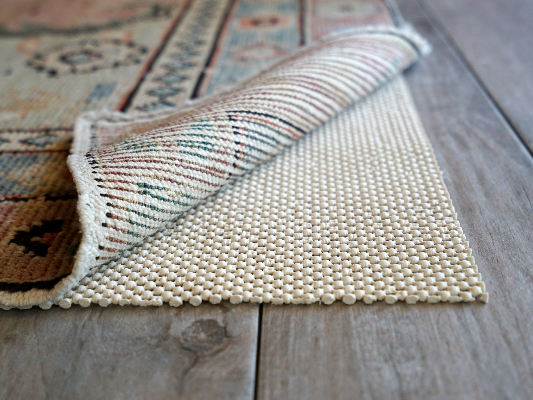Non Slip Area Rug Pad 5 X 8 Protect Floors Extra Strong Grip And Thick Padding