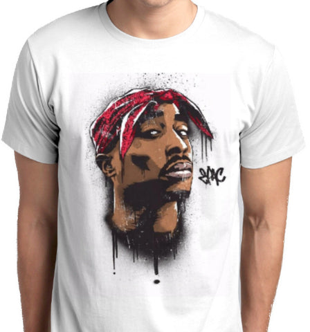 ANBRO2 Kuwait 2PAC Custom Printed T-Shirts Men Fashion Apparel Clothing Music Rap