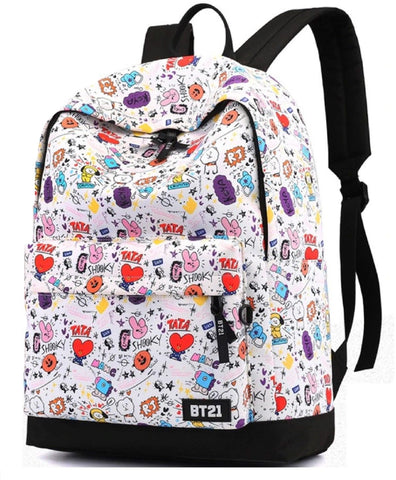 BTS BT21 School Bag