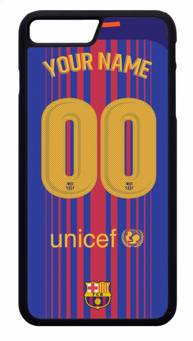 NAME and NUMBER FC Barcelona Kit Mobile Cover