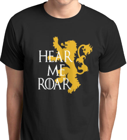 Game of Thrones Hear Me Roar T-Shirt