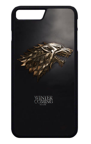 Game of Thrones Winter is Coming - Gold Mobile Cover