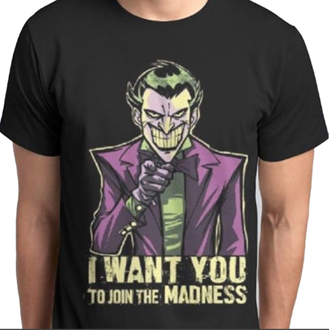I want U to Join the Madness T.