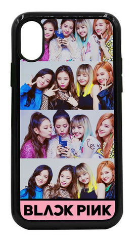 Black Pink 4 Mobile Cover