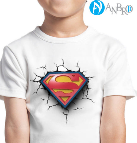 Superman Custom Printed T-Shirts Men Fashion Apparel Clothing printed at ANBRO2 Kuwait